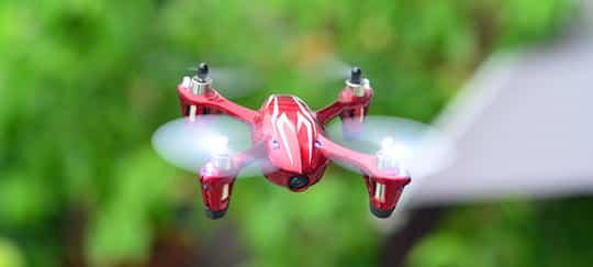Hubsan x4 h107c flying