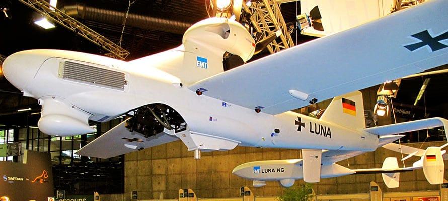 UAV drone luna