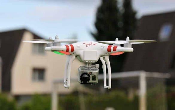DJI Phantom quadcopter Photo Gallery