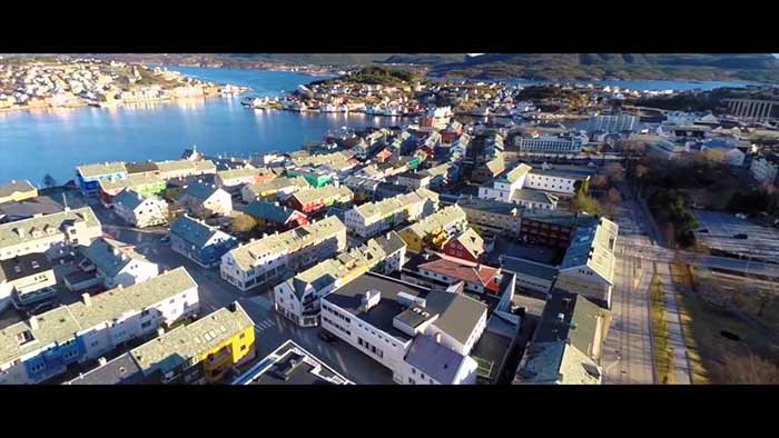 DJI phantom Drone Video Aerials from Scandinavia and Iceland