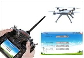 Walkera QR X350 Pro Telemetry Function