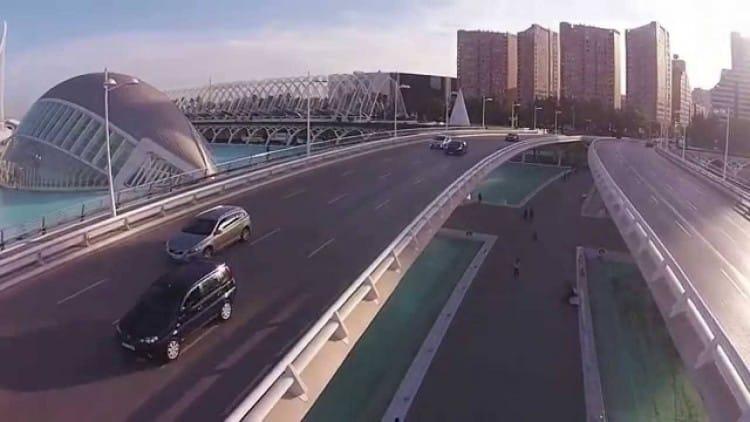 Drone Video Beautiful Valencia