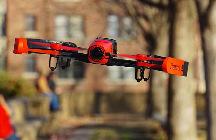 Drones for beginners: Parrot Bebop