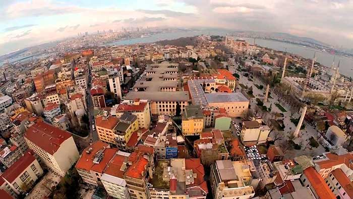 Drone Video Istanbul