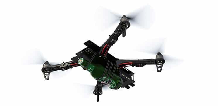 Flytrex Drone Delivers Lunch