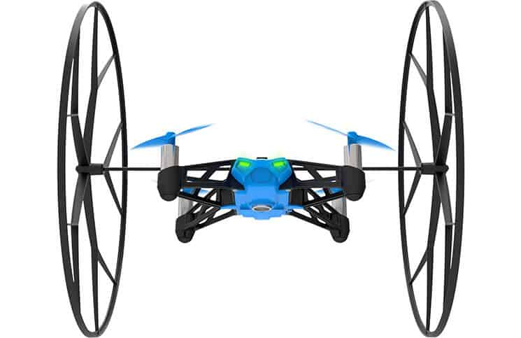 Parrot Drones for Land Sea Air