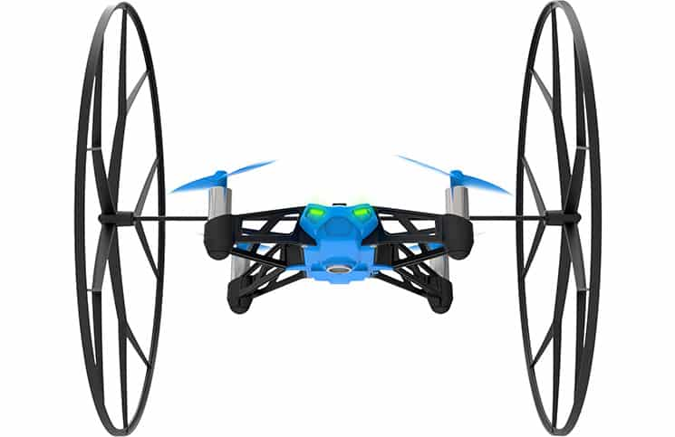 Versatile but Tiny Parrot Drones for Land, Sea & Air