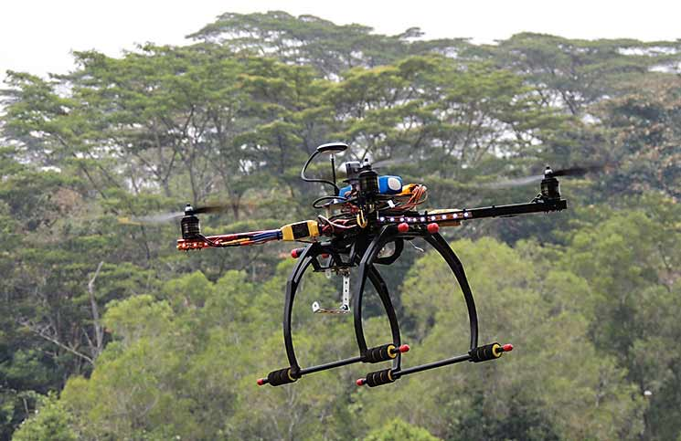 Drones as a drug-smuggling tool
