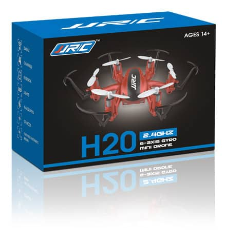 JJRC H20 Hexacopter on a box
