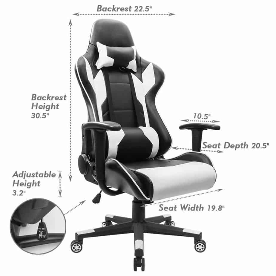 Homall Executive Swivel Leather
