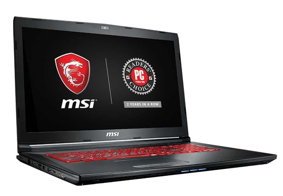 MSI GL72M 7RDX-800 Performance Gaming Laptop