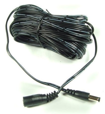 Power Adapter Extension Cable for CCTV Camera