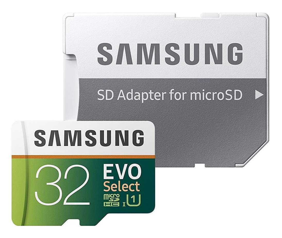 Samsung Micro SD Memory card with Adapter