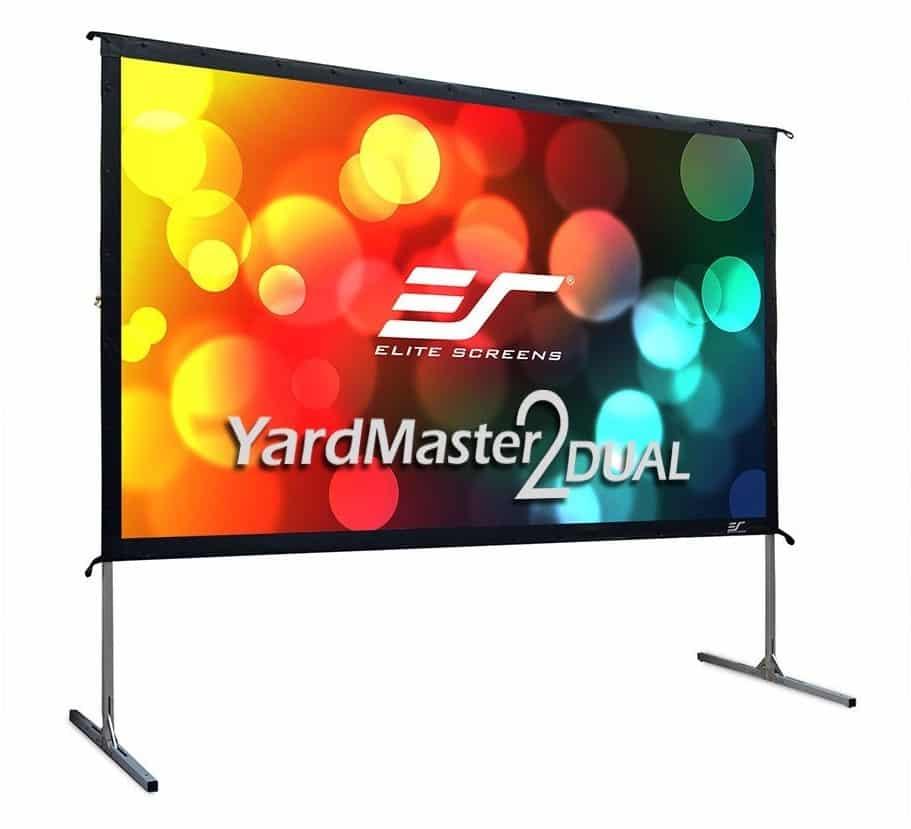 Elite Screens Yardmaster 2 DUAL 100-INCH Indoor Outdoor Projector Screen