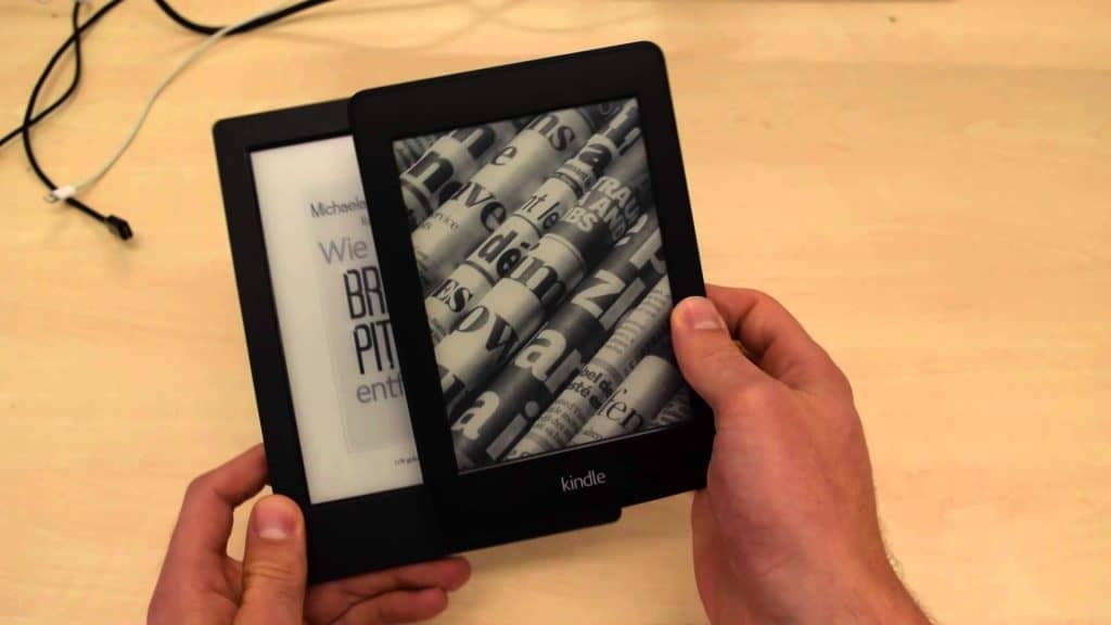 Kobo Aura 2 and Kindle