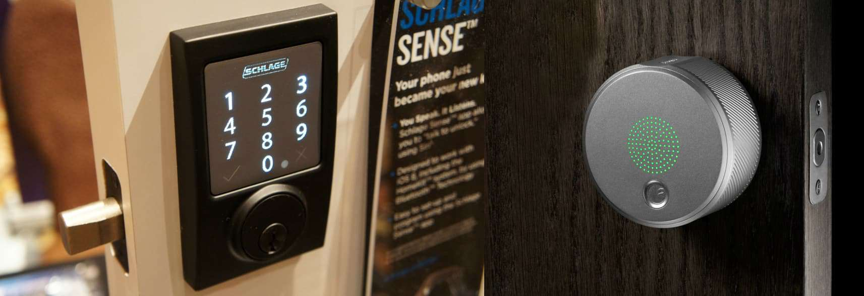 August Smart Lock Pro And Schlage Sense Smart