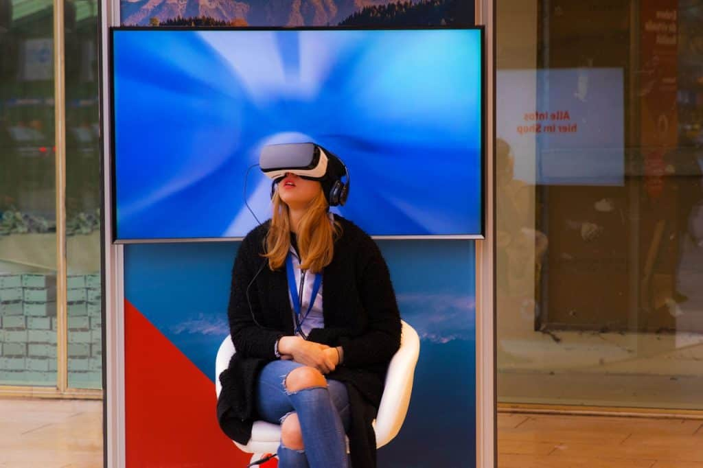 Girl Wearing An Occuls Rift 2014 marked the start of what has come to be known as the year when virtual reality (VR) hit the mainstream. Typically, the idea of any commodity becoming 'mainstream' should be backed with hard evidence data. As of summer, 2018, the unit shipments in the industry is estimated to have surpassed 5 million VR devices. It's crystal clear that the 'wait and see' approach that had been adopted by major manufacturers is shifting. Reason? None of them wants to be left out in this virtual gold rush. Unfortunately, just like in any other tech-based industry there will always be the risk of either getting in too late where a product is no longer hyped and has already been overthrown by something new. After all, the primary market for VR devices is the millennial age which has come to be known for its short attention spans (no offense to our dear ones). 1. virtual reality park and family entertainment center VR is promising to offer highly immersive experiences especially when it's well equipped with the right gear. This is already happening; numerous virtual reality park and family entertainment centers are popping up everywhere. These facilities offer VR experience as a service, and as such, they include various forms of customizations to fit every family member. The parks offer various activities from single player games to multiplayer roleplaying games which a whole family could participate in. This provides not only virtual reality business opportunities for the park owners but also increased demand for the game developers, hardware manufacturers, and distributors. It would be unfair to talk of virtual reality franchise without mentioning virtual reality arcade. This VR gaming industry is estimated will be worth $45 Billion in less than seven years. The reason behind this optimism lies on the fact that supporting gear used in VR games is nearly impossible to purchase, so enthusiasts opt to pay for the services at such VR arcades which are alrea