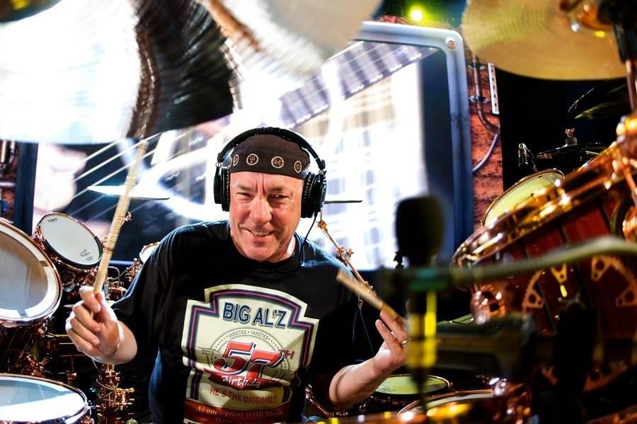 Drummer Wearing Best Headphones