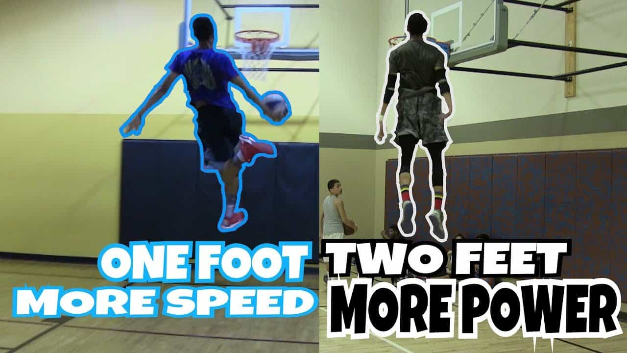 One Foot Vs Two Foot