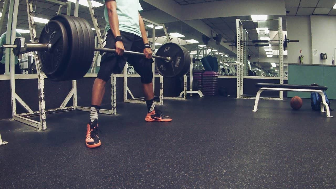 Deadlifts for vertical jump