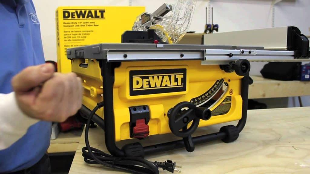 DEWALT DW745 10-Inch jobsite