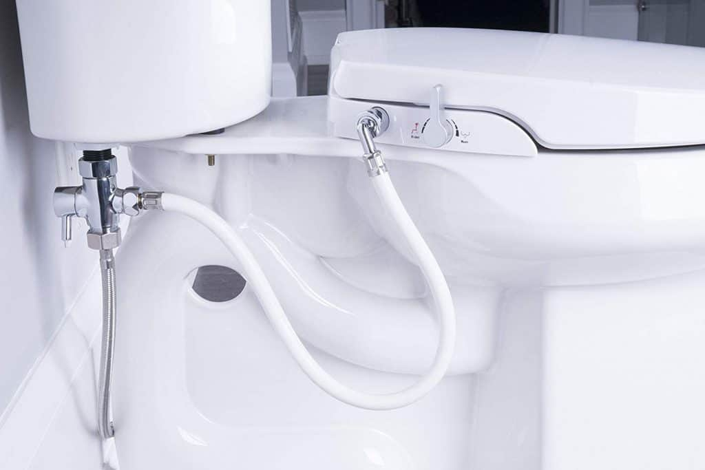 BioBidet Bliss BB2000 Elongated Beige Bidet Smart Toilet Seat