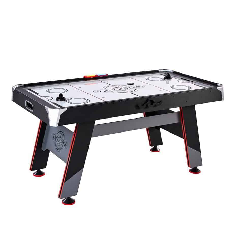 Lancaster AWH066_018P 66 Inch Air Powered Air Hockey Table w/Electronic Scoring