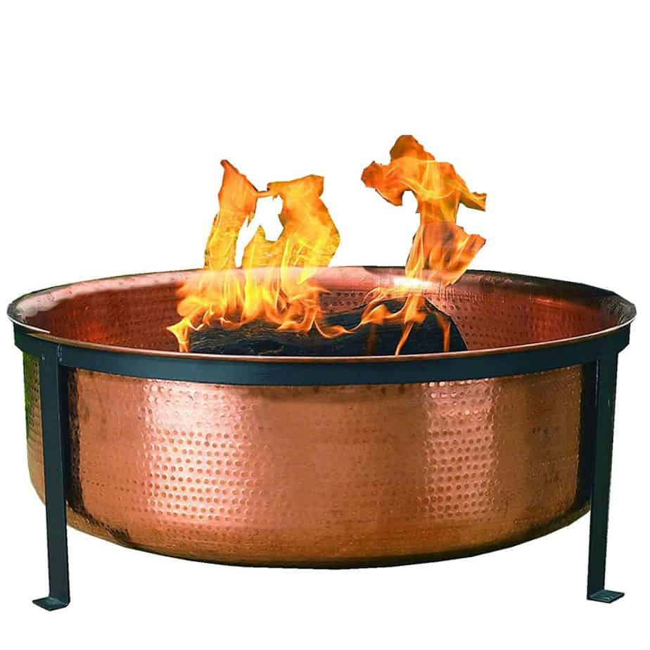 CobraCo SH101 100% Copper Outdoor Fire Pit