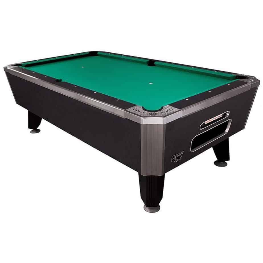 "Valley 101"" Panther Pool Table – Black Cat Finish"