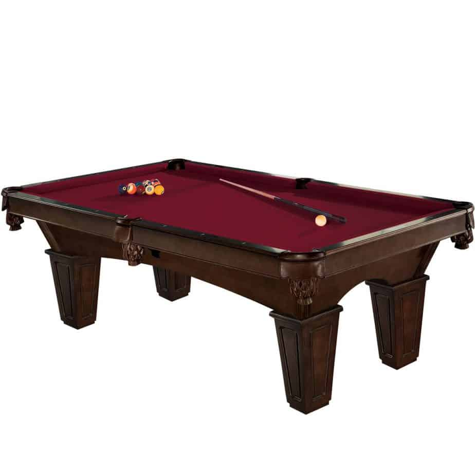 Brunswick 8-Foot Glen Oaks Pool Table