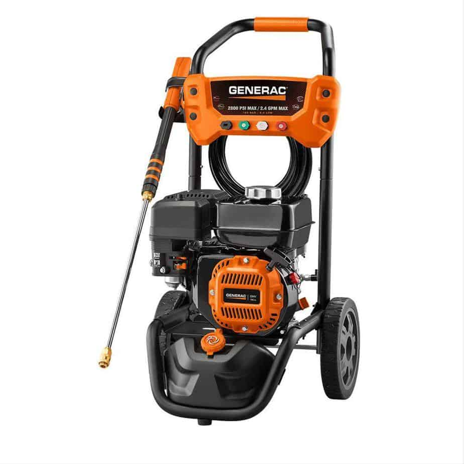 Generac 6922 2,800 PSI, 2.4 GPM, Gas Powered Pressure Washer
