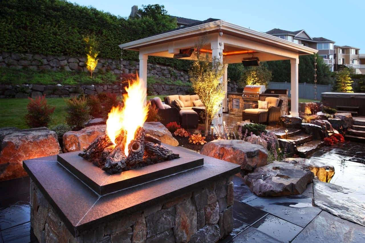Gas Fire Pit For Covered Porch 29