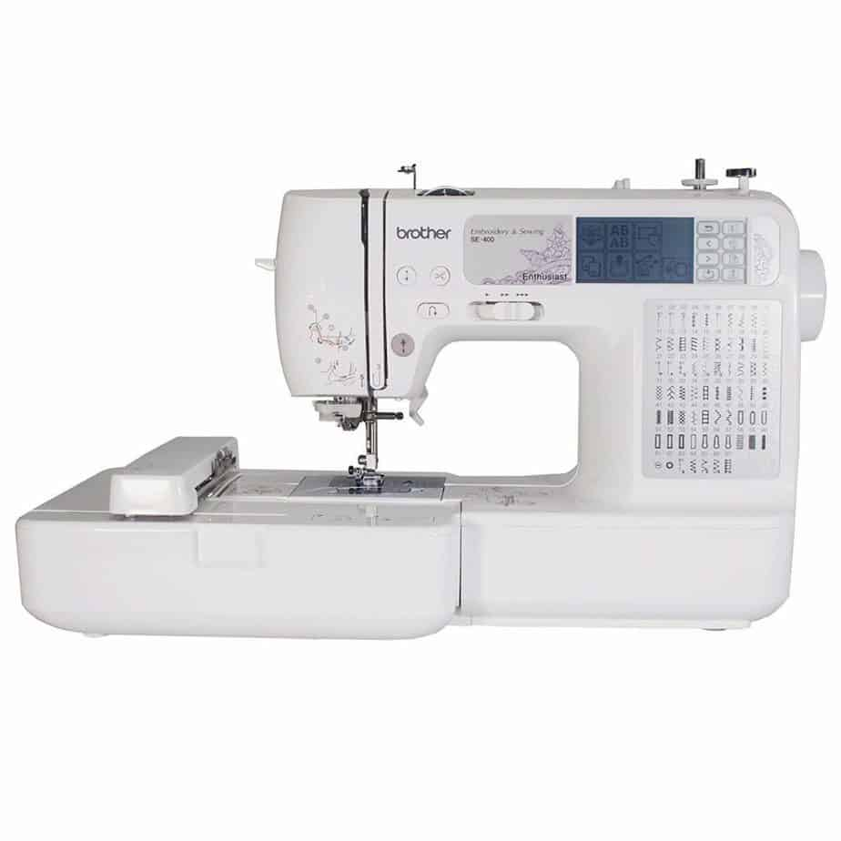 BROTHER SE400 Combination Computerised Sewing And 4x4 Embroidery Machine
