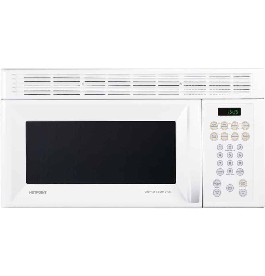Ge RVM1535DMWW Hotpoint Microwave Oven Over-The-Range-White