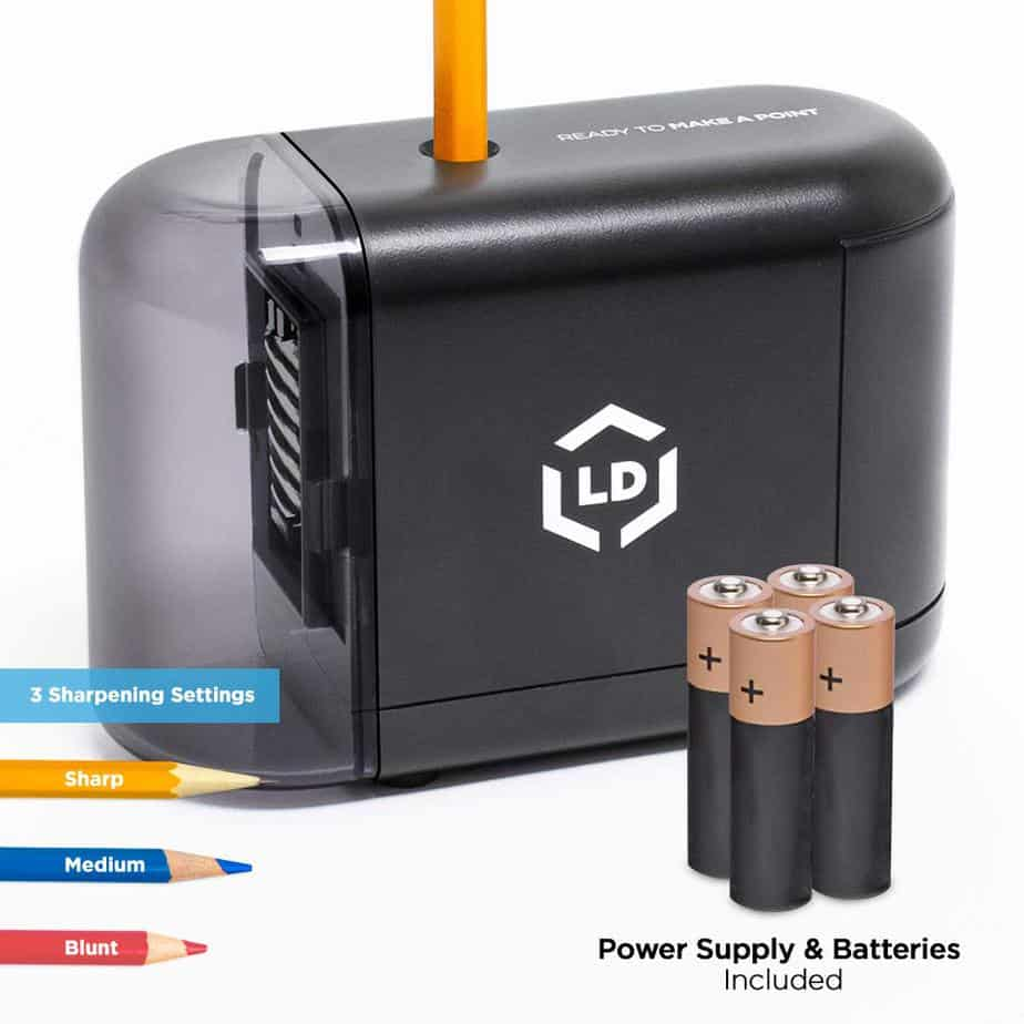 The LD Products Electric Pencil Sharpener