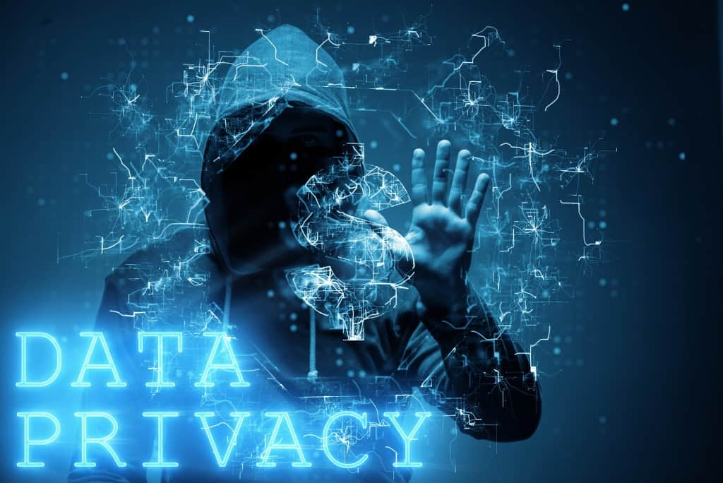 Data Privacy Picture Of A Man