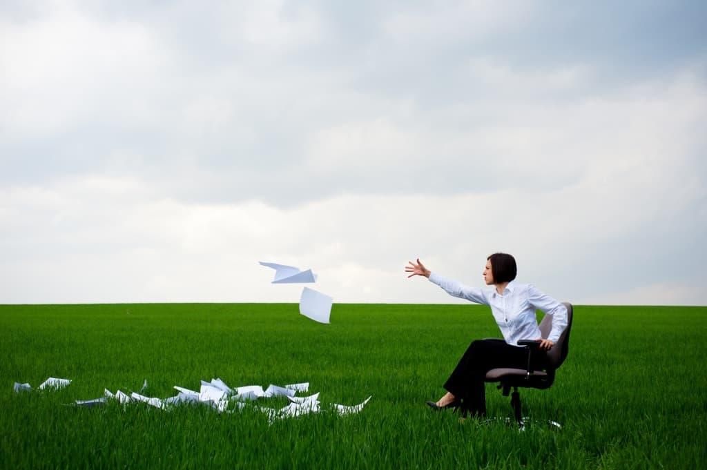 Flinging Paper Resume