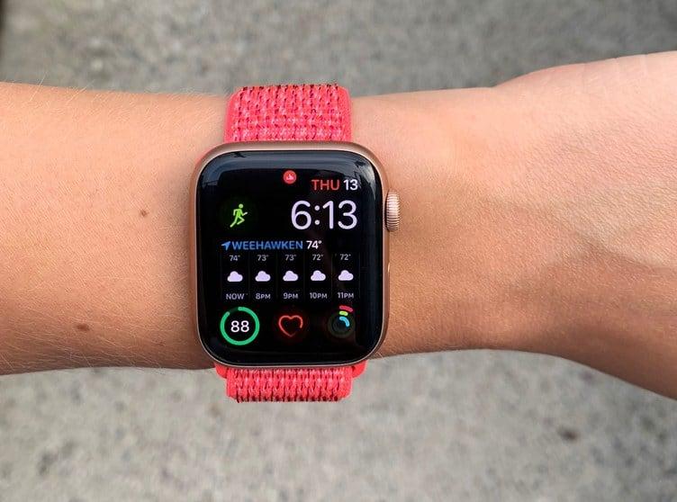 Apple Watch 4 Running 02