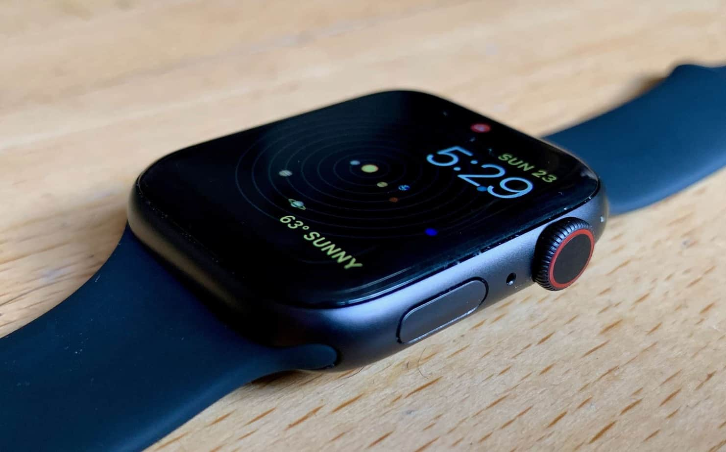 Apple Watch Laid ON Table