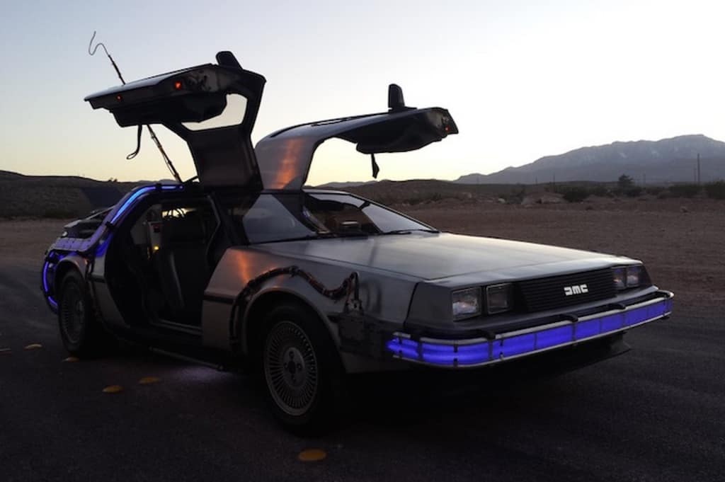 Back to the Future Films​: 1981 De Lorean DMC12