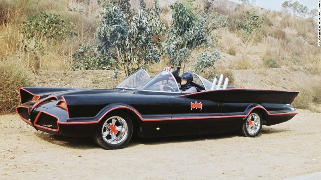 Batmobile 1966 Lincoln Fontana