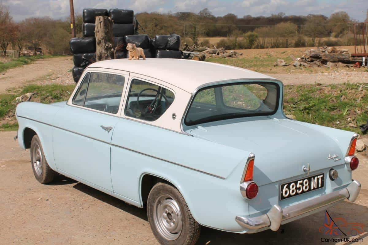 Harry Potter Films: Ford Anglia 105E