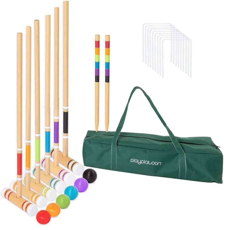Lawn Croquet Set for Kids & Families