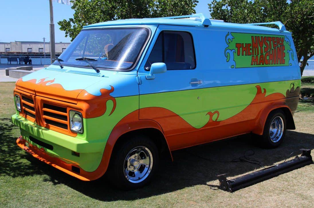 Scooby Do Cartoon 1963 Ford Econline