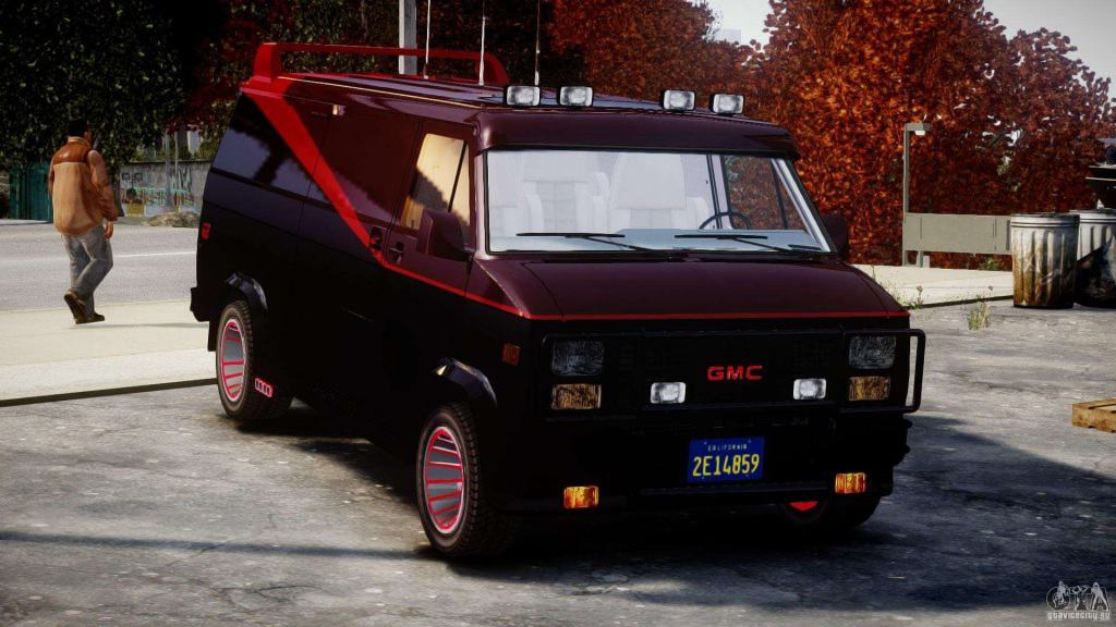 The A Team ​1983 GMC G15 Van