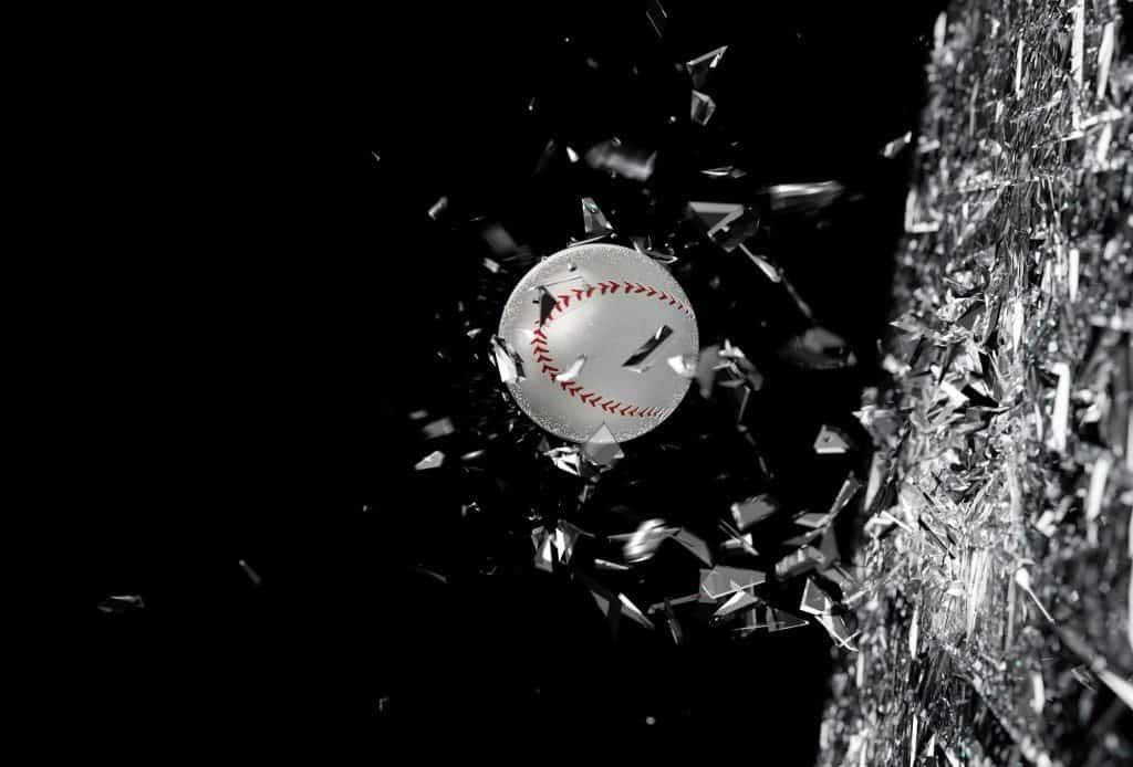 Console baseball game