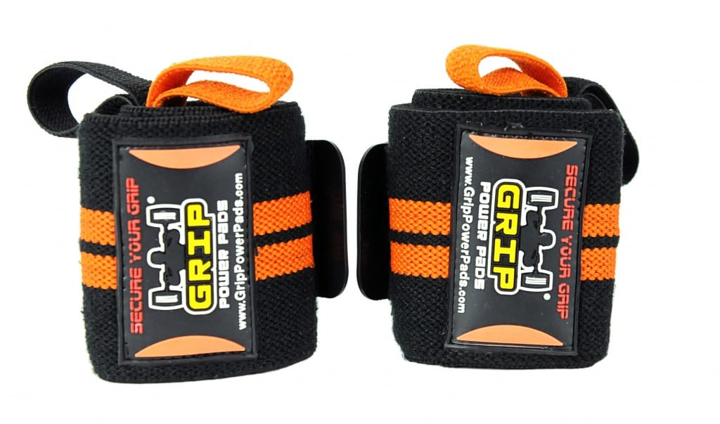 Grip Power Pads Deluxe Wrist Wraps​