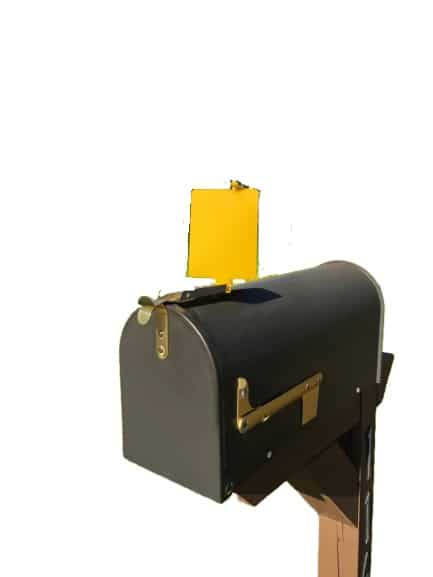 Mail Time! ® Yellow Mailbox