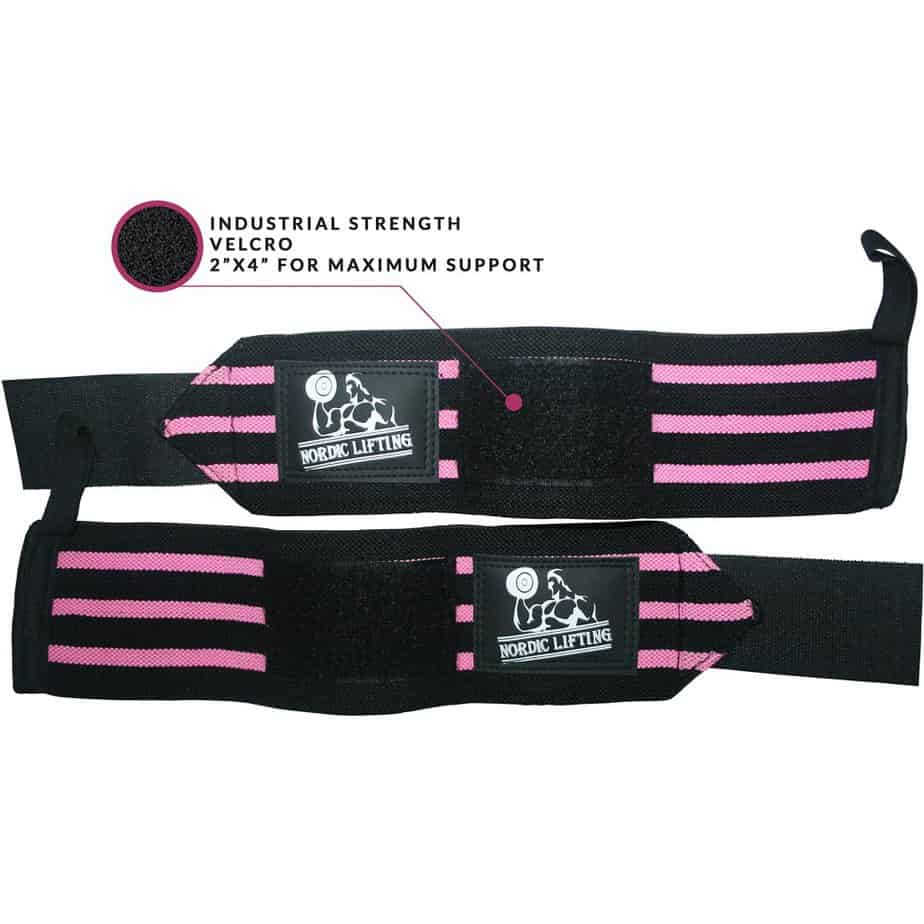 Nordic Lifting Wrist Wraps​