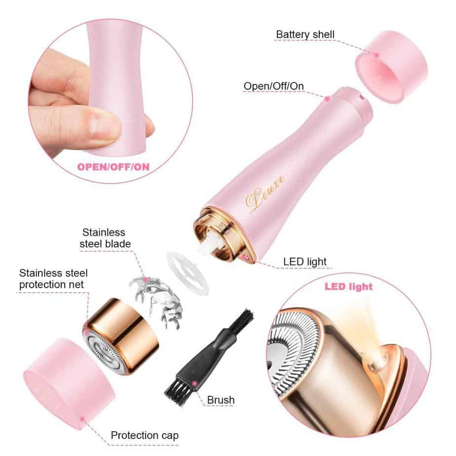 LEUXE Facial Hair Remover
